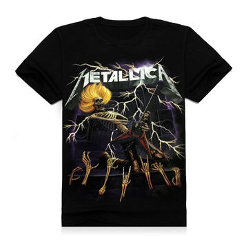 T Shirt Brand Heavy Metal Black Sabbath The End Tour Dates 2016 Hip Hop Rock Tee T-Shirt Music Summer Top T-Shirt Custom Print