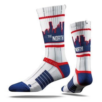 Strideline® 2.0 City Line, The North Pinstripes, Minnesota Twins Crew Socks
