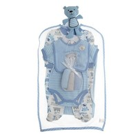 9pc Bear Baby Set 0 3m 382298775 | Gift Sets | Baby Boy Clothes | Clothing | Burlington Coat Factory