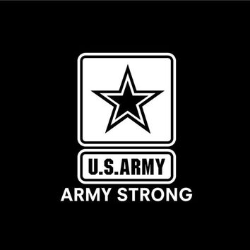 Military US Army Vinyl Decal car truck auto vehicle window custom sticker United States Army decal