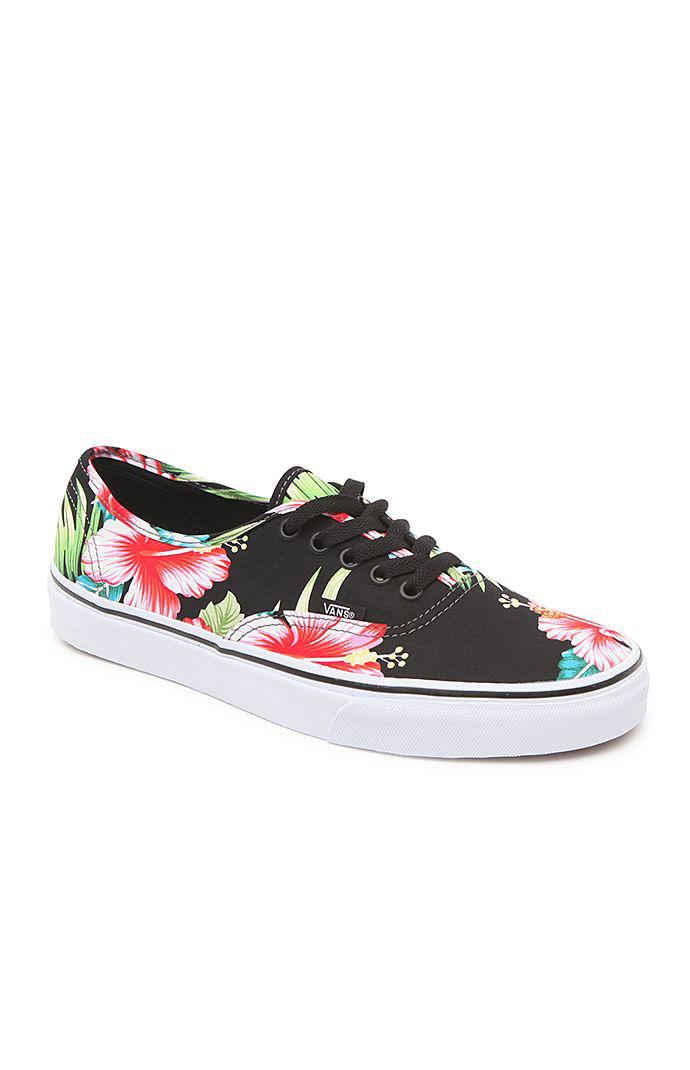 a0d8d351f72c3e Vans Authentic Hawaiian Floral Shoes - from PacSun