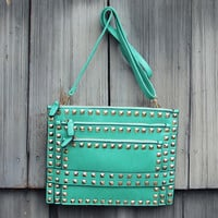 Shooting Arrow Cross Body Bag in Mist