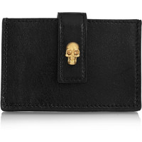 Alexander McQueen - Leather cardholder
