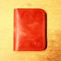 Red leather wallet, leather wallets for women, ladies leather wallets, small leather wallet, womens leather wallets, small womens wallet