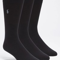 Men's Polo Ralph Lauren Socks (3-Pack)