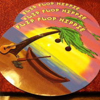 Flip Flop Hippie Sticker