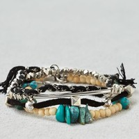 AEO Women's Black & Turquoise Arm Party (Multi)
