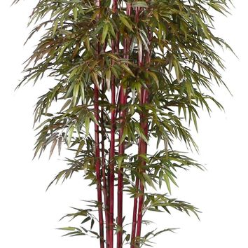 """96"""" Tall Bamboo Tree Artificial Faux Lifelike  with Decorative Planter"""