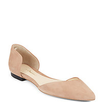 Saks Fifth Avenue - Alexi Leather D'Orsay Flats