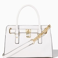 Lady Lockbox Satchel | Fashion Handbags | charming charlie