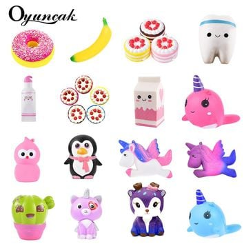 Oyuncak Squishy Novelty Gag Toys Jumbo Fun Squish Antistress Surprise Stress Relief Toys For Children Cute Squeeze Slow Rising