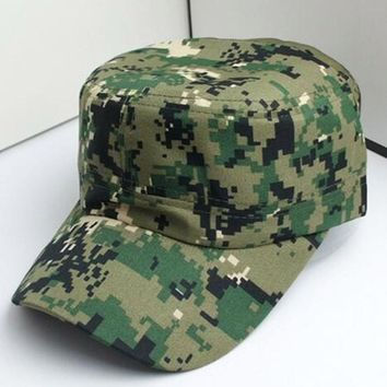 Men Women Camouflage Outdoor Climbing Baseball Cap Hip Hop Dance Hat Cap