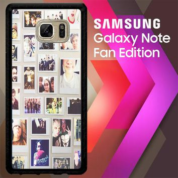 1 Direction Collae V0611 Samsung Galaxy Note FE Fan Edition Case