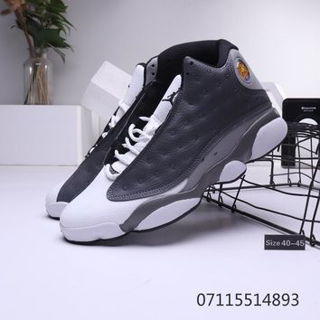 Air Jordan 13 Retro Grey White Sneaker - Best Deal Online