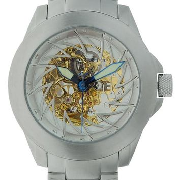 Android AD468BG Men's Ninja 50 Skeleton Automatic Watch