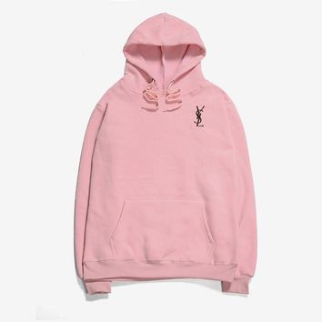 YSL flame men and women long sleeve sets