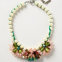 Lily Bib Necklace by Rada Multi One Size Necklaces
