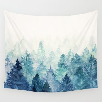 Fade Away Wall Tapestry by Viviana Gonzalez