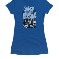 Saved by the Bell Retro Cast Juniors Tee Shirt