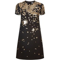 Valentino Floral Sequin Embellished Dress | Harrods.com