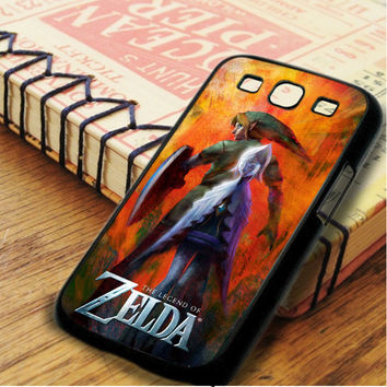 The Legend Of Zelda Poster Samsung Galaxy S3 Case