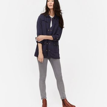 Cassidy MARINE NAVY Safari Jacket | Joules US