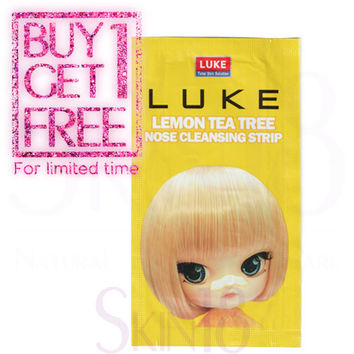 [ BUY1GET1 ] Luke Lemon Tea Tree Nose Cleansing Strip