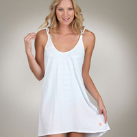 Hurley Swim Dress | White Swim Tunic | Womens Coverup