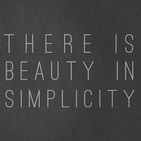 There is Beauty in Simplicity 8x10 Art Print by BubbyAndBean