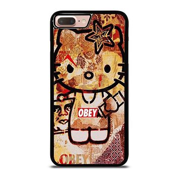 OBEY HELLO KITTY iPhone 8 Plus Case Cover