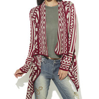 Aztec Wrap | Shop Sweaters at Wet Seal