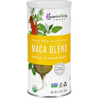 Essential Living Foods Maca Blend Powder - Organic - Andean Stamina Boost - 11.5 Oz