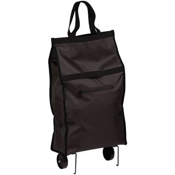 Honey-Can-Do(R) CRT-05978 Rolling Fabric Bag Cart