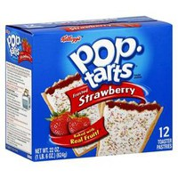 Kellogg's® Pop-Tarts® Frosted Strawberry Pastries - 12ct