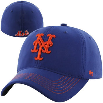 New York Mets '47 Brand Game Time Closer Flex Hat – Royal Blue
