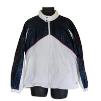 Men Windbreaker Jacket Marlboro Jacket 80s Windbreaker Men Spring Jacket Retro Windbreaker Waterproof Jacket Light Jacket Red White and Blue