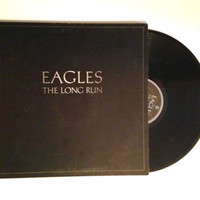 Vinyl Record The Eagles The Long Run 1979 Sad Cafe King Of Hollywood