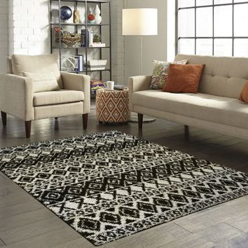 Mainstays Hayden Shag Area Rug and Runner Collection, Multiple Sizes - Walmart.com