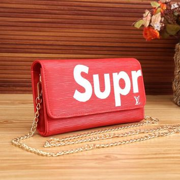 New  Satchel Bag LV supreme Leather Wallet Poket High Quality