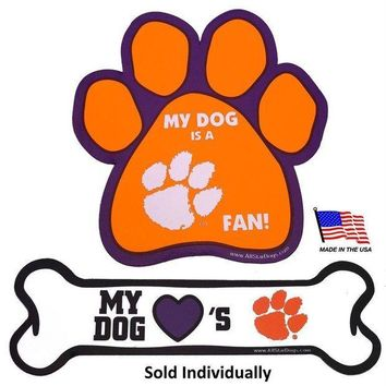PEAP7N7 Clemson Tigers Car Magnets