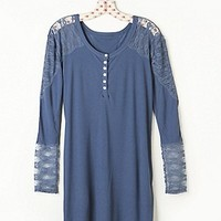Free People  Lacey Lounge Henley at Free People Clothing Boutique