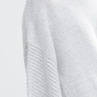Oasis High Neck Knitted Poncho at asos.com