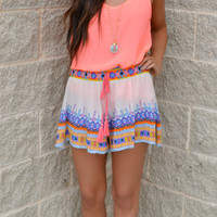 Just Beachy Printed Shorts