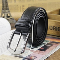 New men fashion casual leather belt pin buckle leather belts double-sided specials