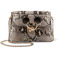 JW Anderson - Pierce mini python shoulder bag