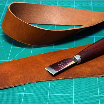 Handmade Leather Guitar Bass Straps Can Be Customized Guitar Accessories