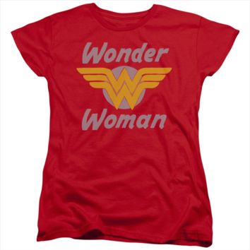 Wonder Woman Short Sleeve Tee - Red Wings - WWTW