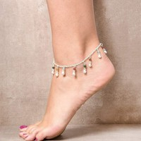 Beads & Bells Anklet