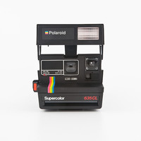 Polaroid Supercolor 635CL - film Tested and Working Polaroid 600 - Impossible Project PX680