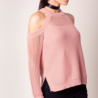 Cori Cold Shoulder Sweater